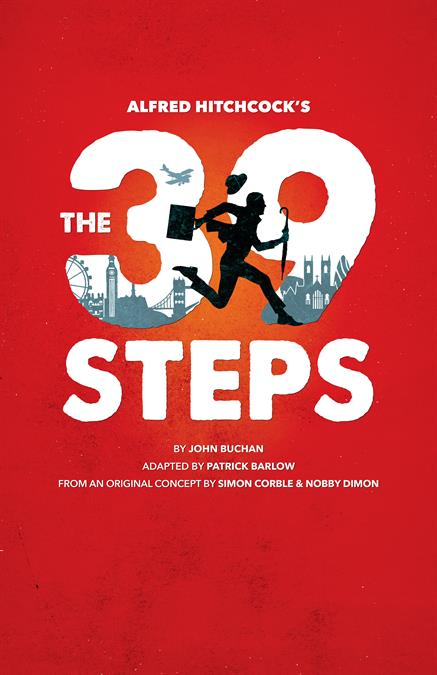The 39 Steps Theatre Poster