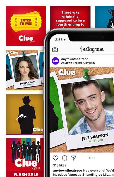 Clue (High School Edition) Theatre Logo Pack