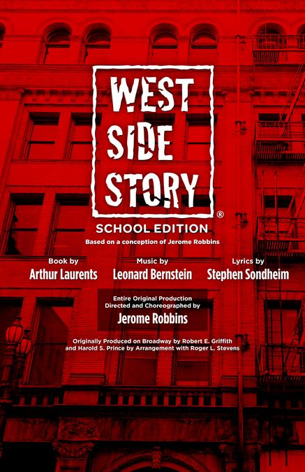 West Side Story (School Edition) Theatre Poster