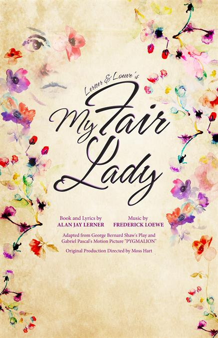 My Fair Lady Theatre Poster
