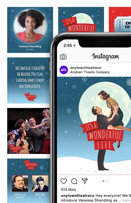 It's a Wonderful Life Theatre Logo Pack
