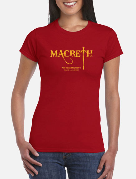 Women's Macbeth T-Shirt