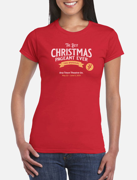 Women's The Best Christmas Pageant Ever JV T-Shirt