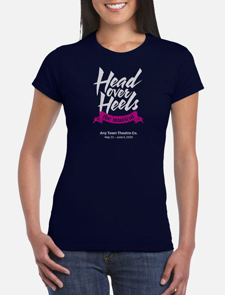 Women's Head Over Heels T-Shirt