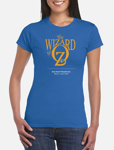 Women's The Wizard of Oz (R.S.C. 1987) T-Shirt