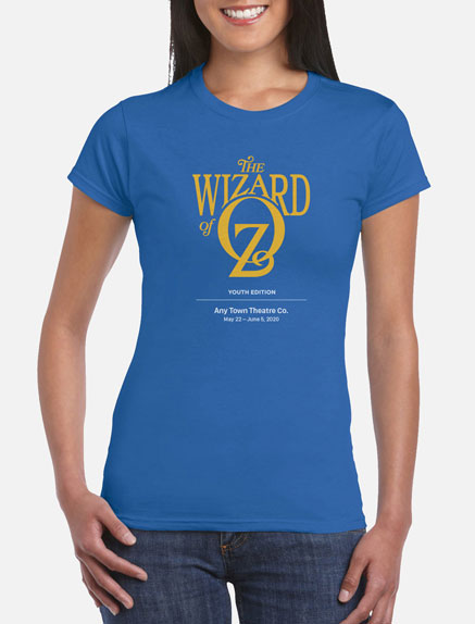 Women's The Wizard of Oz (Young Performers' Edition) T-Shirt