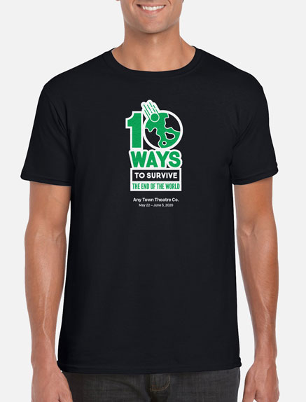 Men's 10 Ways To Survive the End of the World T-Shirt