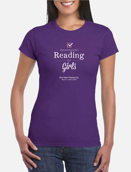 Women's Recommended Reading for Girls T-Shirt