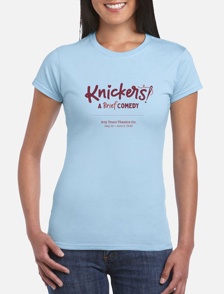 Women's Knickers T-Shirt