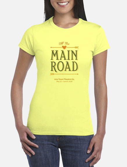 Women's Off the Main Road T-Shirt