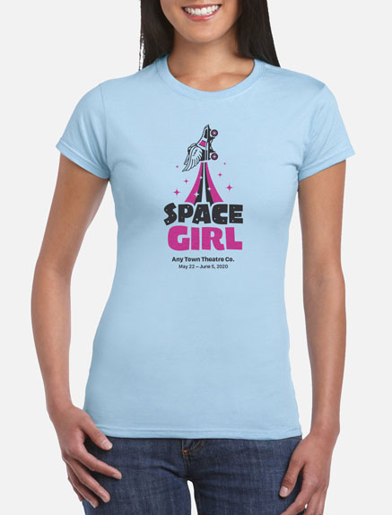 Women's Space Girl T-Shirt