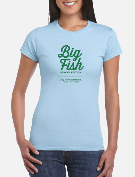 Women's Big Fish (School Edition) T-Shirt