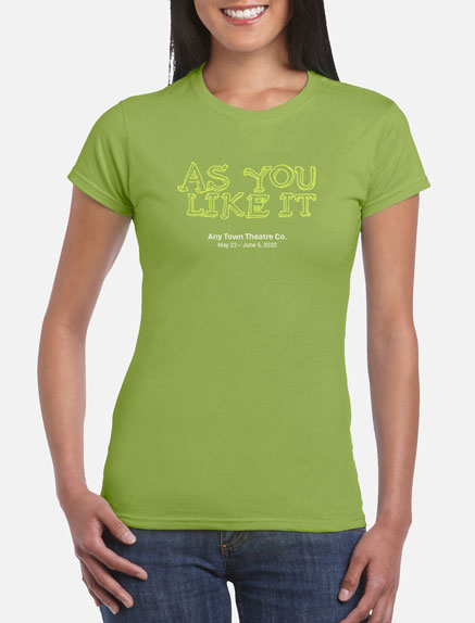 Women's As You Like It T-Shirt
