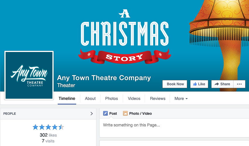 Theatre Facebook Graphics by Subplot Studio