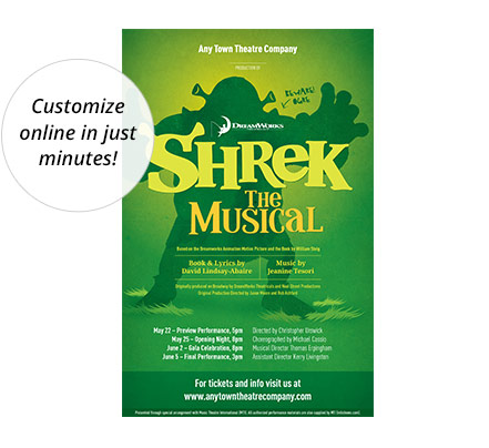 Shrek Poster Designed by Subplot Studio