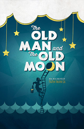 The Old Man and The Old Moon Poster