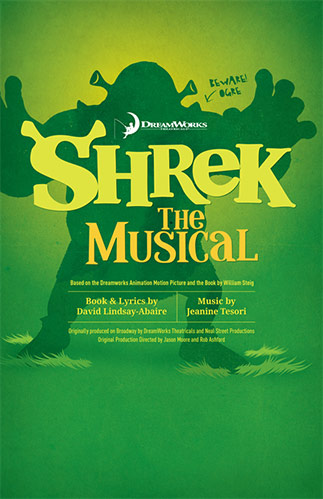 Shrek The Musical Poster