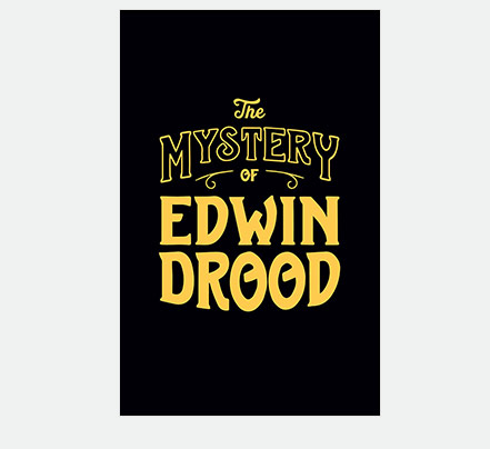 Edwin Drood Theatre Poster Logo