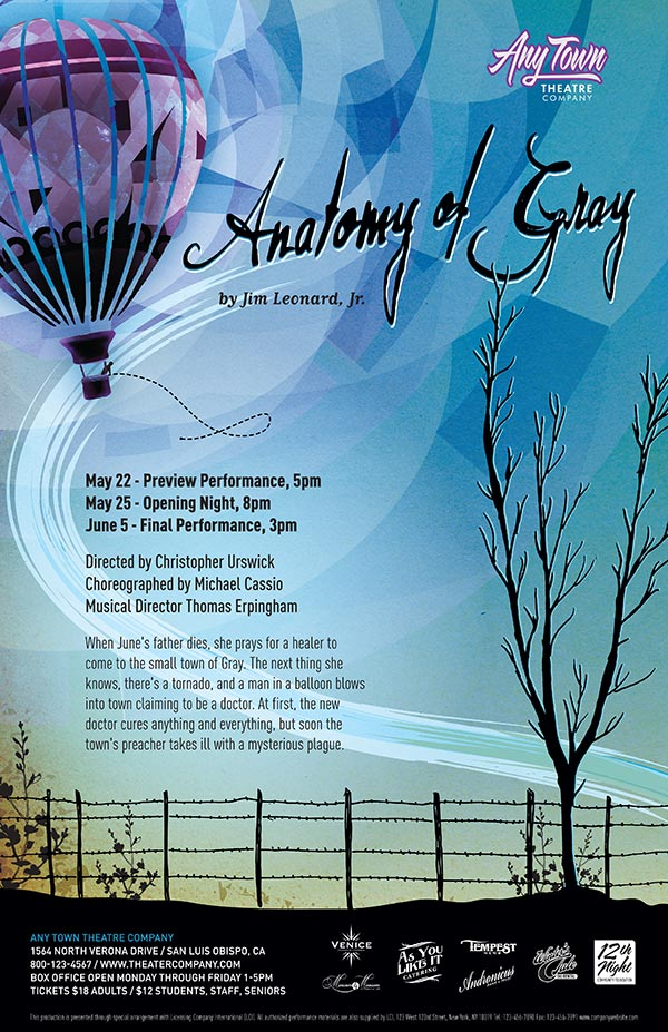 Anatomy of Gray Poster Design   Subplot Studio
