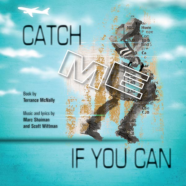 Catch Me If You Can Poster Design and Logo Pack