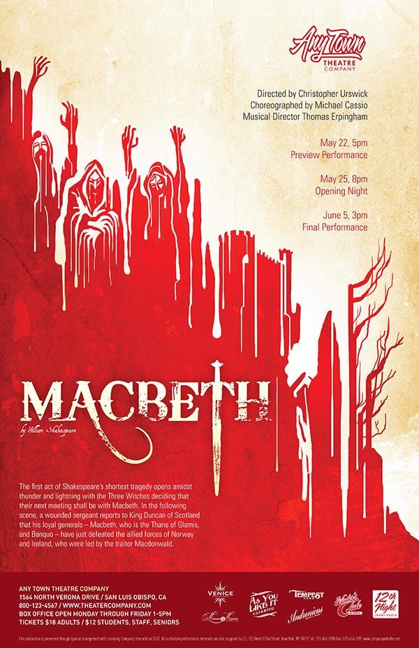 first impressions theme home theatre miami | Macbeth Poster Design | Subplot Studio