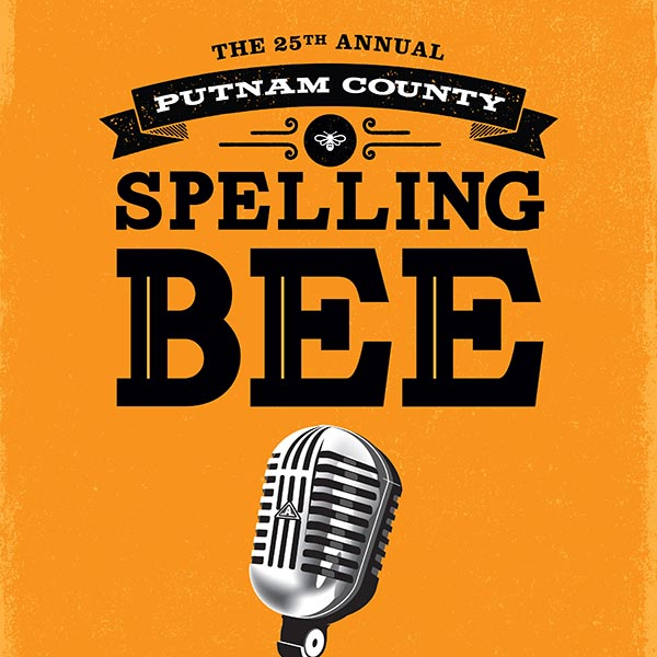 The 25th Annual Putnam County Spelling Bee Poster Design and Logo Pack
