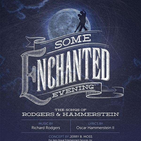 Some Enchanted Evening Poster Design and Logo Pack