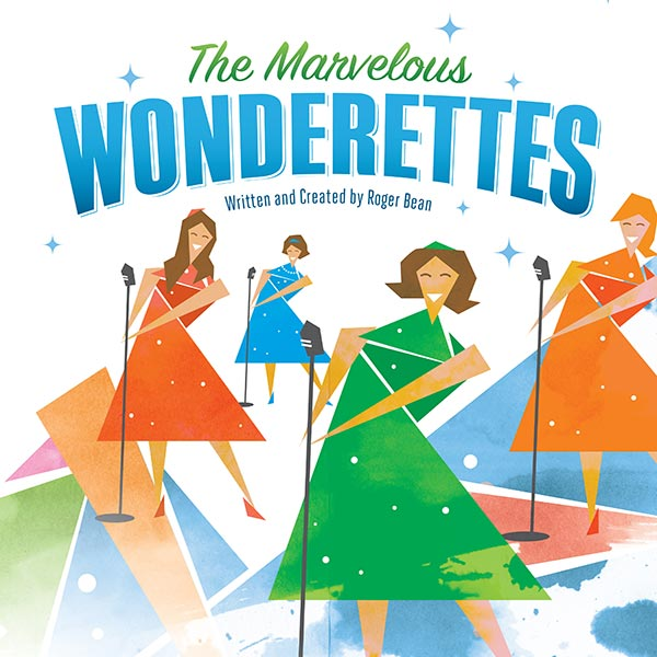 The Marvelous Wonderettes Poster Design and Logo Pack