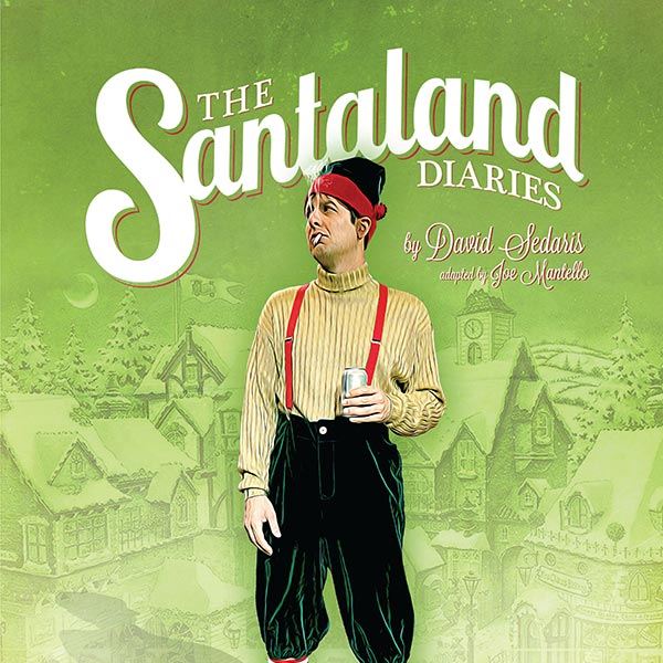 The Santaland Diaries Poster Design and Logo Pack