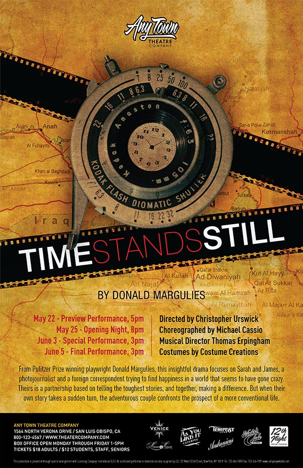 Time Stands Still Poster Design and Logo Pack