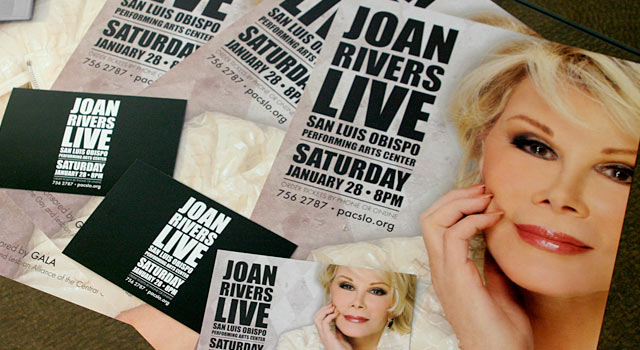 Joan Rivers Live Poster